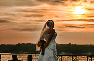 Wellwood Pavillion East Coast wedding by water