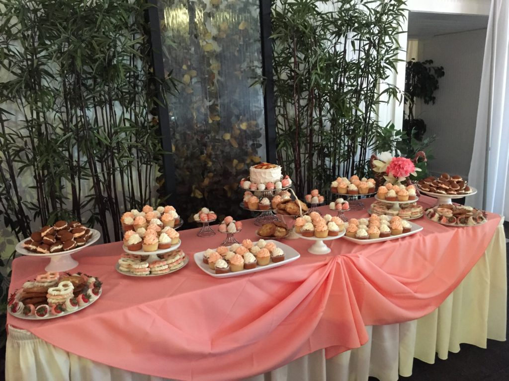 pink cake table ideas cupcakes wellwood wedding maryland delaware