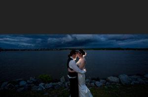night wedding photography Wellwood Maryland