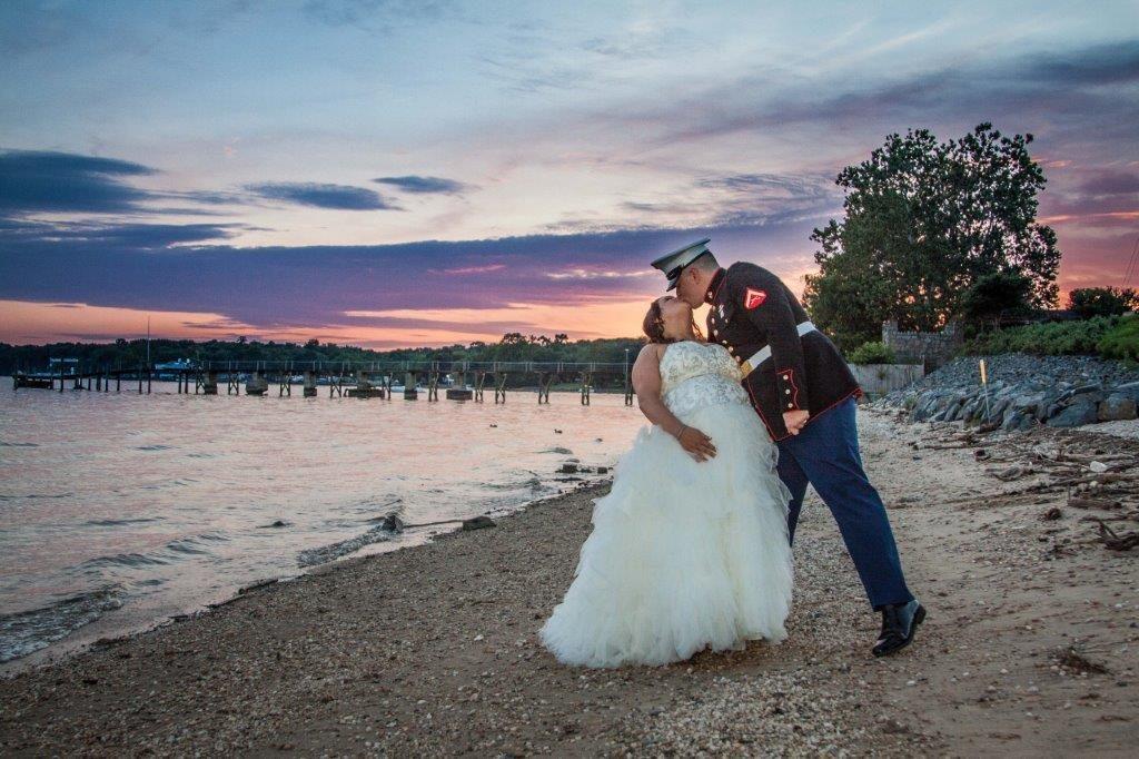 Amber Ryan Suset Wedding Northeast MD