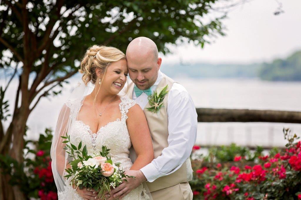 Amber Ryan waterfront wedding northeast Md