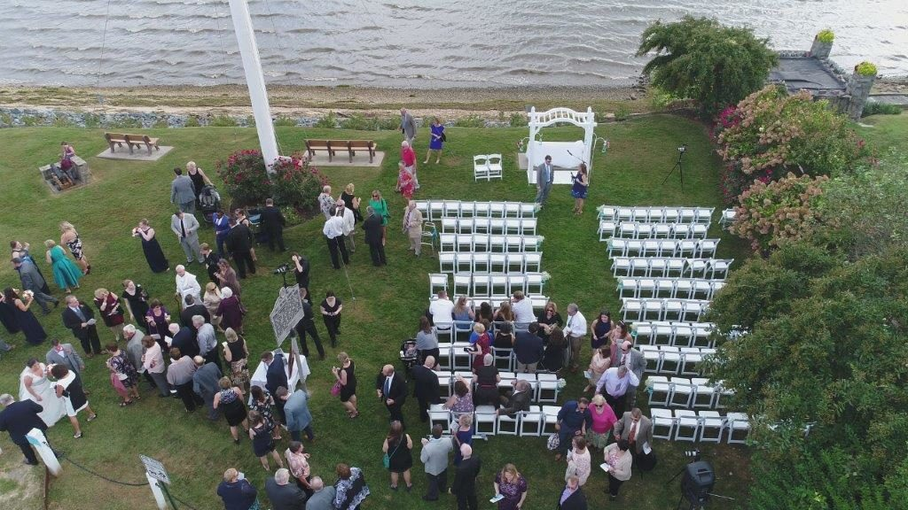 DJI Waterfront Wedding at The Wellwood in Northeast Maryland (1)