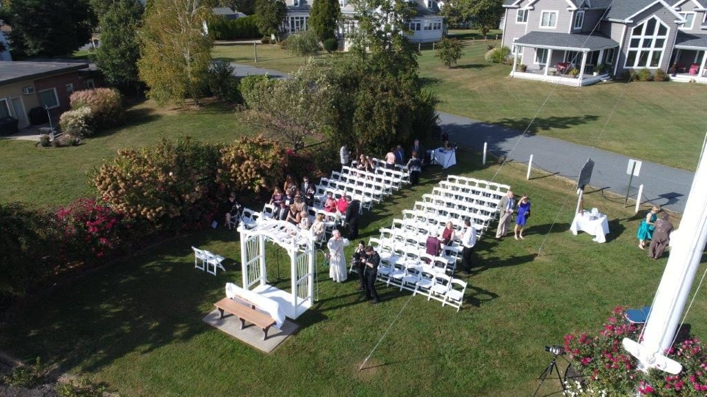DJI Waterfront Wedding at The Wellwood in Northeast Maryland (2)