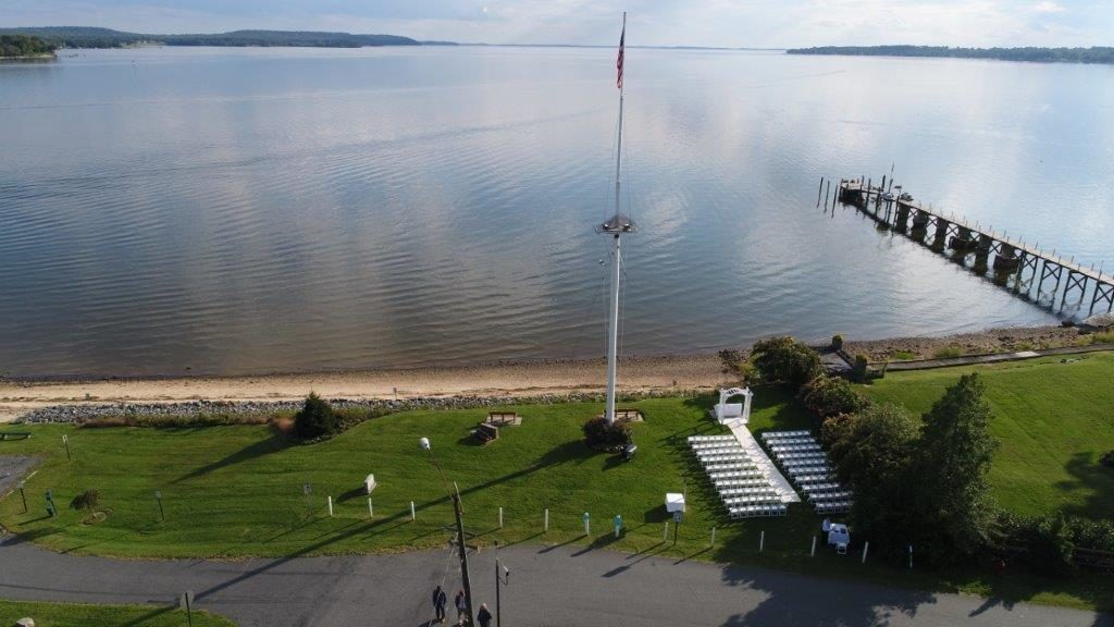 DJI Waterfront Wedding at The Wellwood in Northeast Maryland (3)
