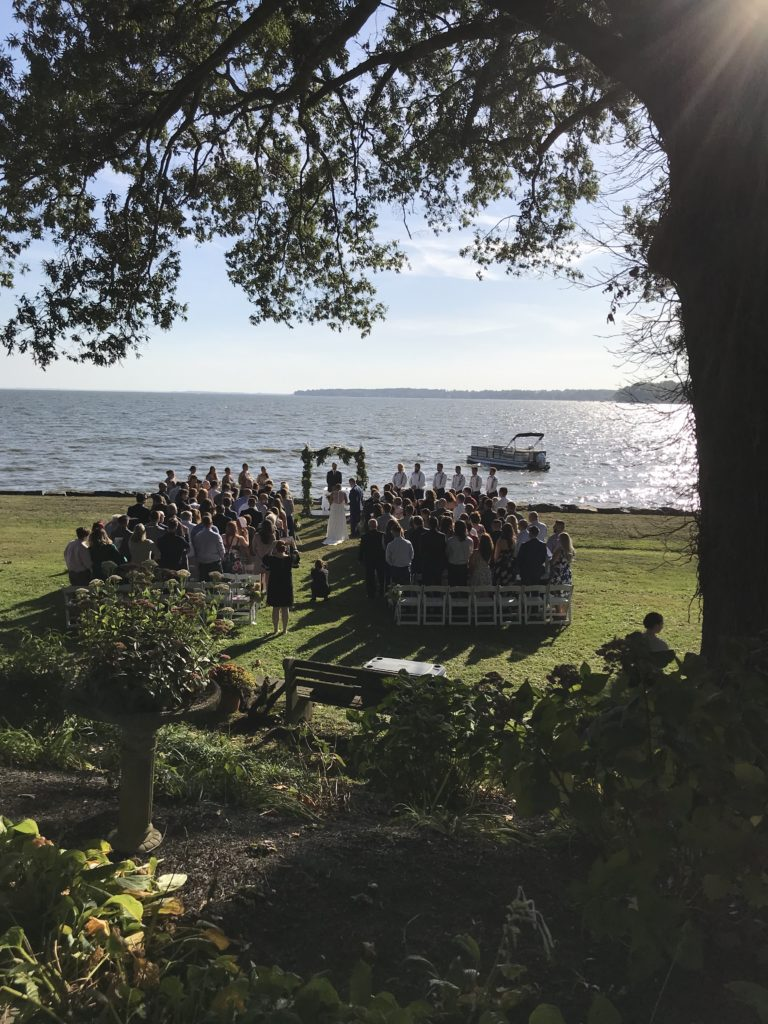 Wellwood Waterfront Weddings Maryland